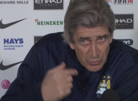 News video: Anfield Match Won't Decide Title, Says Pellegrini