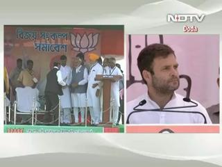 News video: Rahul Gandhi targets Narendra Modi over admission of marriage